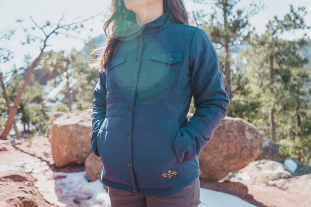 Huck Adventures reviews: United By Blue Bison Snap Jacket.