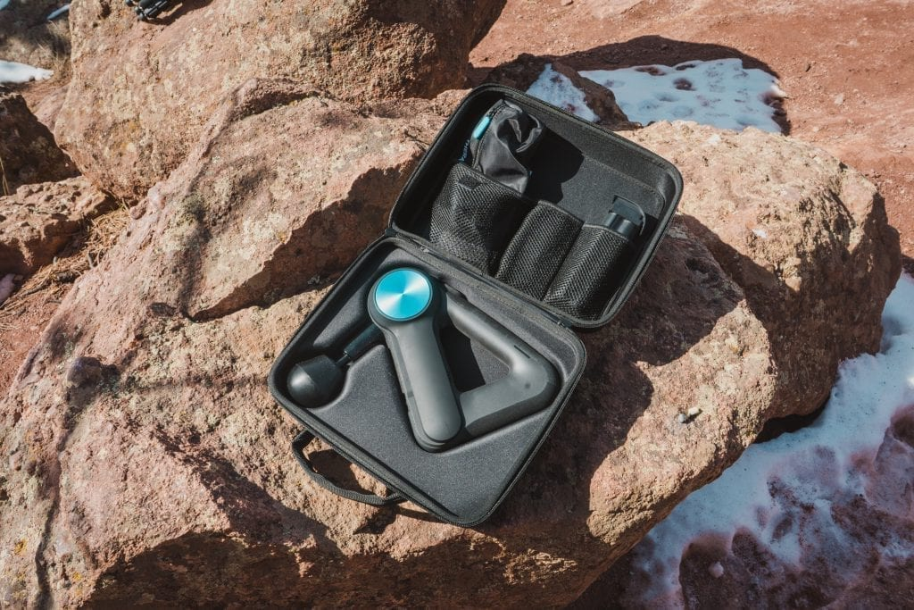 Huck Adventures reviews: Theragun G3PRO Percussive Therapy