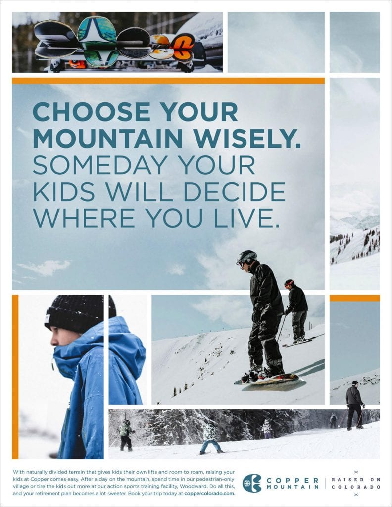 Copper Mountain Ski Poster
