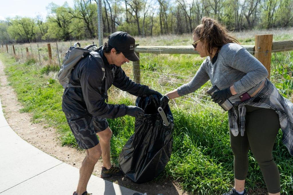 Huck Teams Up with Boulder Companies for Earth Day Event