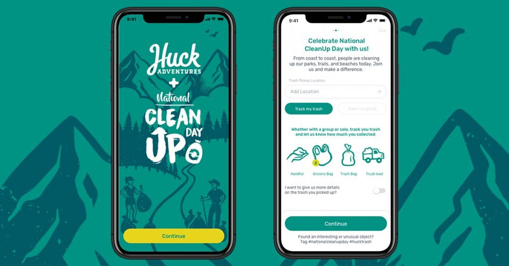 National Cleanup Day App