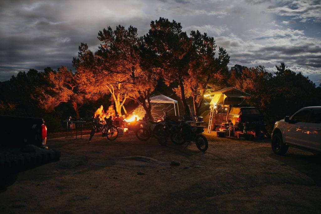 Camping in Buena Vista Colorado