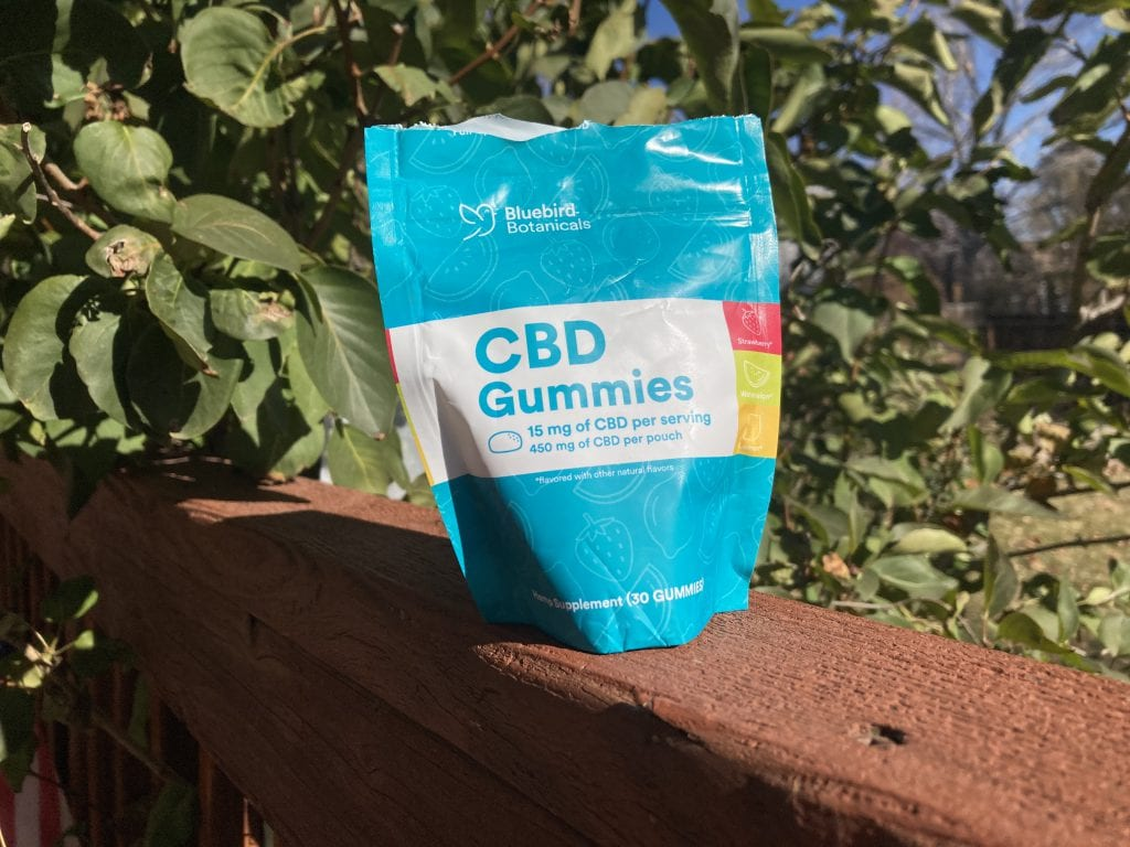 Bluebird Botanicals CBD Gummies