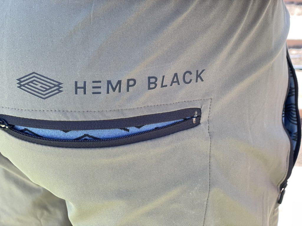 Hemp Black Sunn Pants